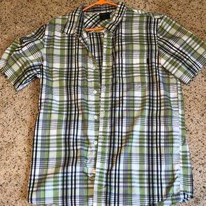 Men's Oakley Short Sleeve Button Down Shirt